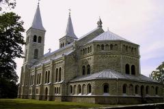 Rapla kiriku tagantvaade